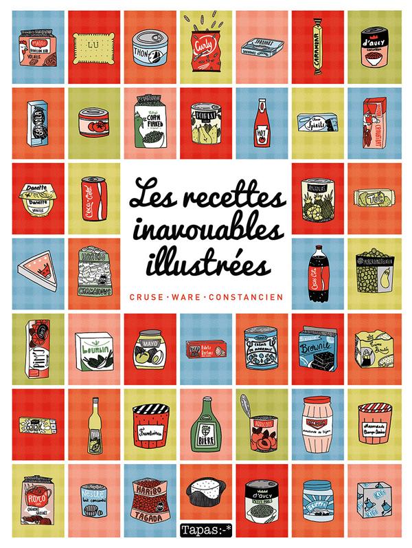 Les Recettes inavouables illustrées, bd chez Delcourt de Cruse, Constancien