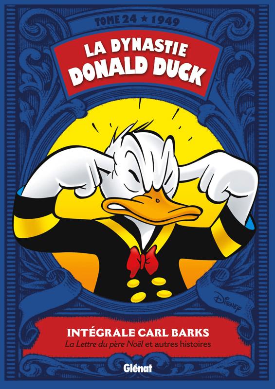 La Dynastie Donald Duck T24 : La lettre du Père Noël et autres histoire (0), comics chez Glénat de Barks