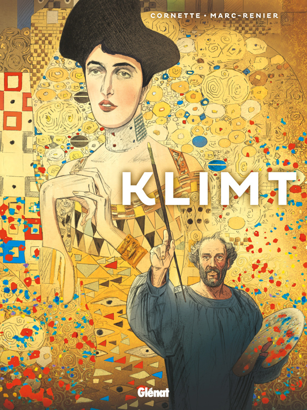 Klimt, bd chez Glénat de Cornette, Marc-Rénier, Barthélemy