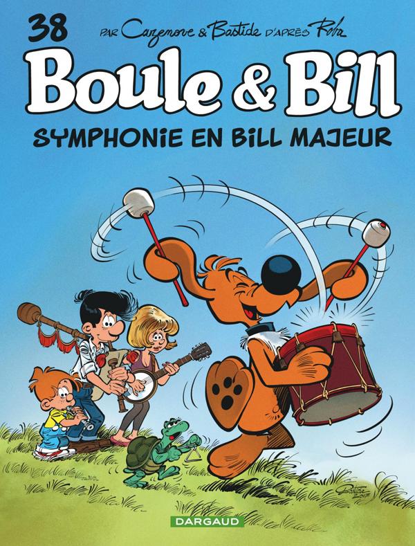 Boule et Bill T38 : Symphonie en Bill majeur (0), bd chez Dargaud de Cazenove, Bastide, Perdriset