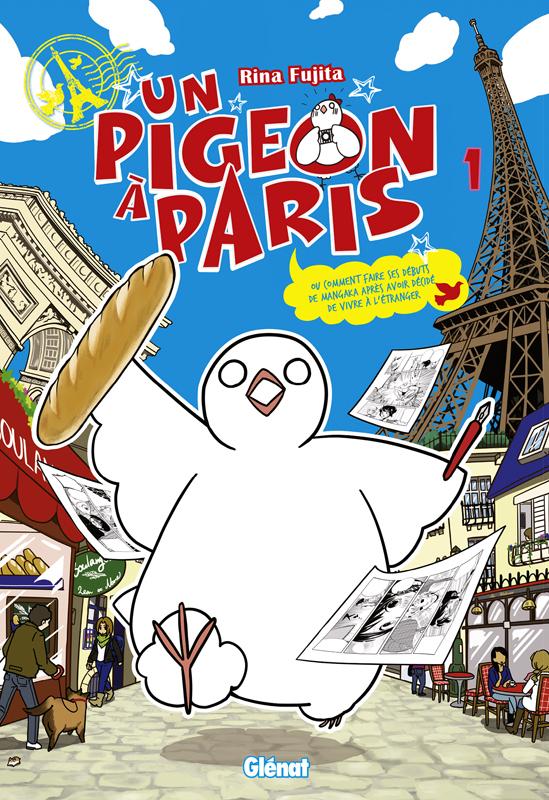 Un pigeon à Paris T1, manga chez Glénat de Foujita