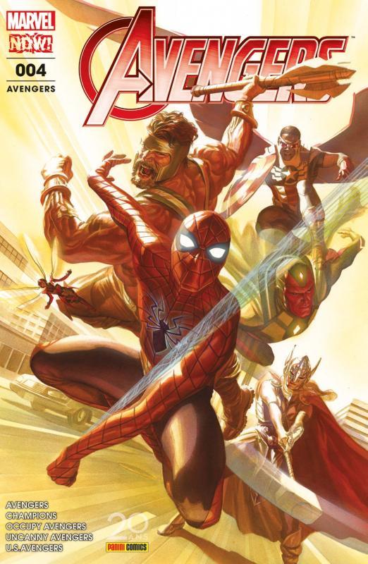 The Avengers (revue) T4 : Guerre ultime (0), comics chez Panini Comics de Ewing, Walker, Waid, Duggan, Pacheco, Libranda, Ramos, Del Mundo, Kitson, Medina, Curiel, D'Alfonso, Aburtov, Delgado, Oback, Boyd, Ross