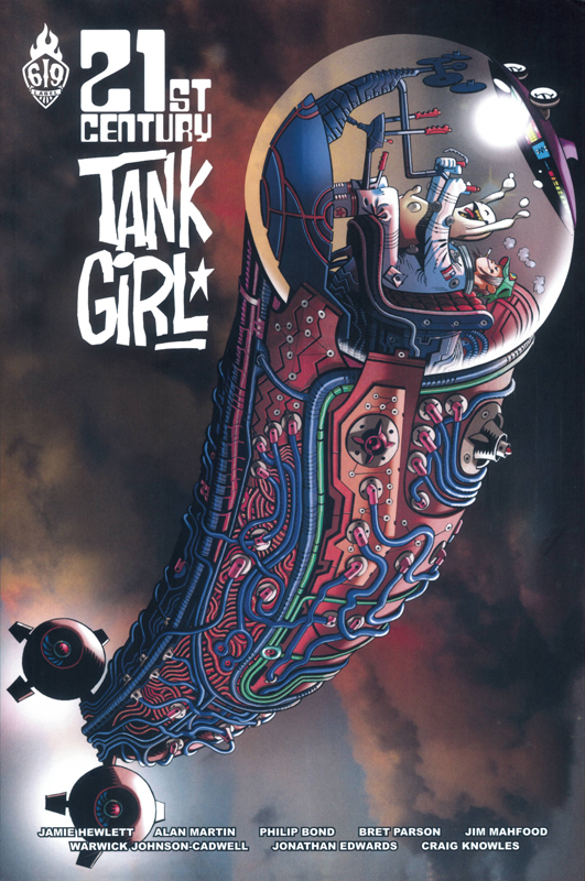 Tank Girl : 21st century (0), comics chez Ankama de Martin, Hewlett, Edwards, Mahfood, Talent-Caldwell, Bond, Knowles, Parson