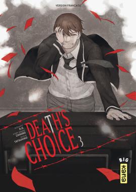 Death's choice T3, manga chez Kana de Tatsuhiko, GOO