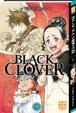 Black clover T9, manga chez Kazé manga de Tabata