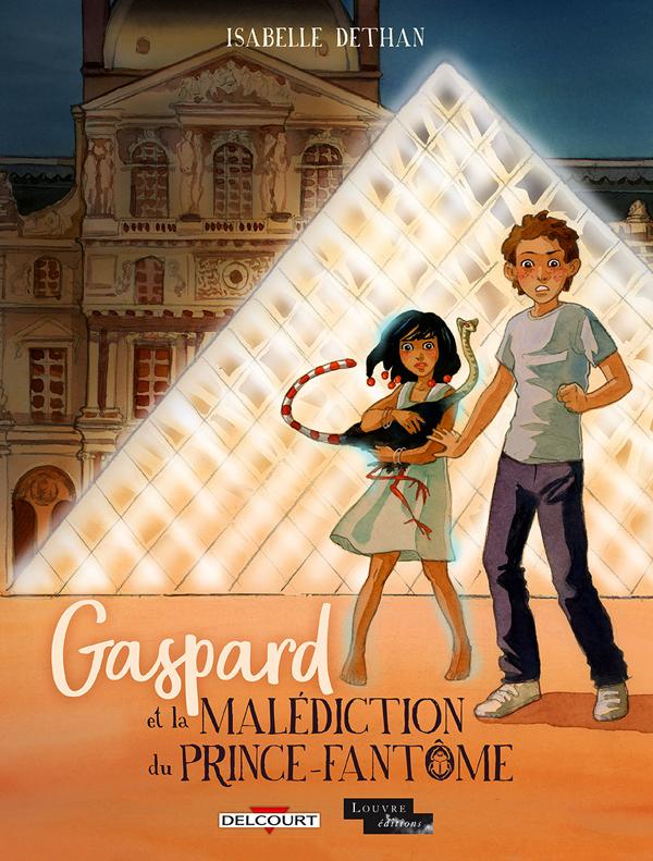 Gaspard et la malédiction du Prince-Fantôme, bd chez Delcourt de Dethan