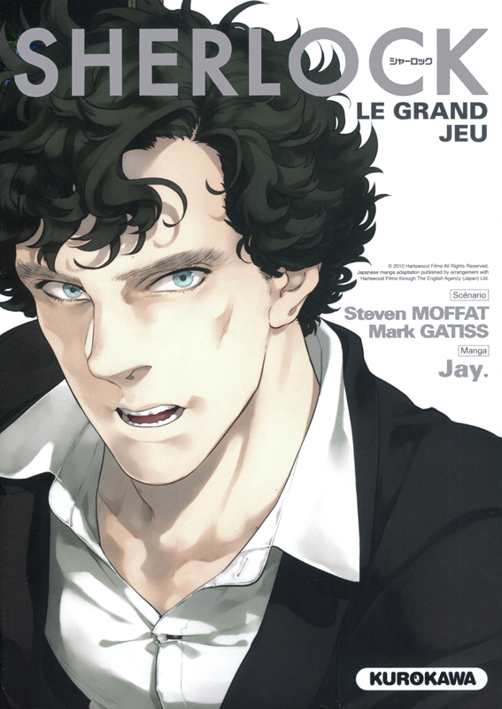 Sherlock T3 : Le grand jeu (0), manga chez Kurokawa de Gattis, Moffat, Jay