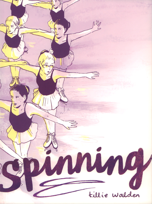 Spinning, comics chez Gallimard de Walden