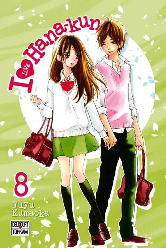 I love Hana-Kun T8, manga chez Delcourt Tonkam de Kuamoka