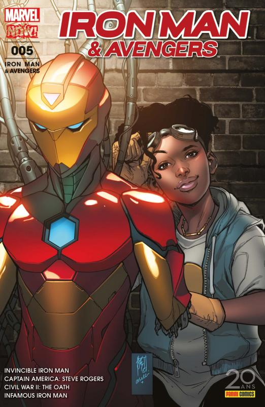 Iron Man & Avengers T5 : Le serment (0), comics chez Panini Comics de Bendis, Spencer, Guinaldo, Reis, Kudranski, Ienco, Maleev, Noto, Pina, Stein, Saiz, Caselli, Almara, Hollingsworth, Gracia, Rosenberg