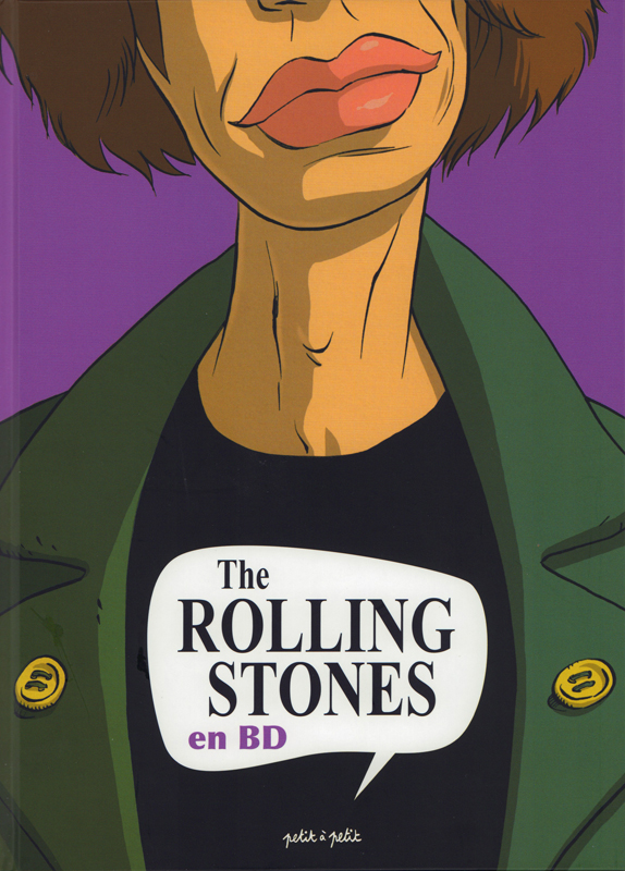 The Rolling Stones en BD : <span> Collectif</span> (0), bd chez Petit à petit de Ceka, Collectif