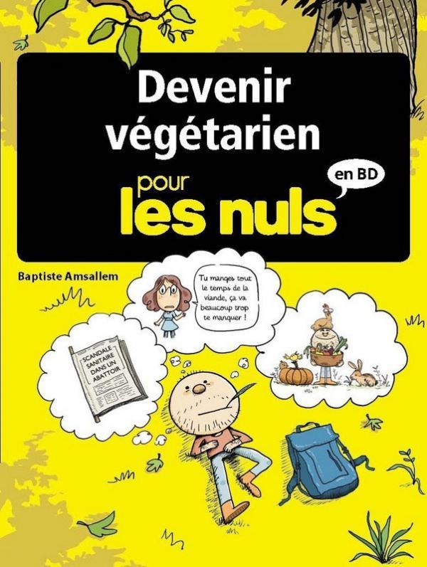 ... pour les nuls T8 : Devenir végétarien (0), bd chez Delcourt de Amsallem