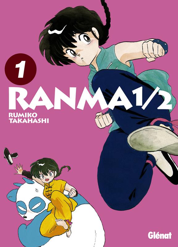 Ranma ½ T1, manga chez Glénat de Takahashi