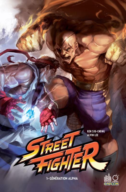 Street Fighter T1 : Génération Alpha (0), comics chez Urban Comics de Siu-Chong, Greenidge, Lau, Andrews, Park, Tae Hyung, Lee, Madureira, Larroca, Saka, Hou, Barberi, Middleton, Vo, Tsang, Strain, NG