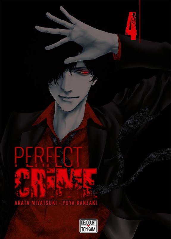 Perfect crime T4, manga chez Delcourt Tonkam de Miyatsuki, Kanzaki