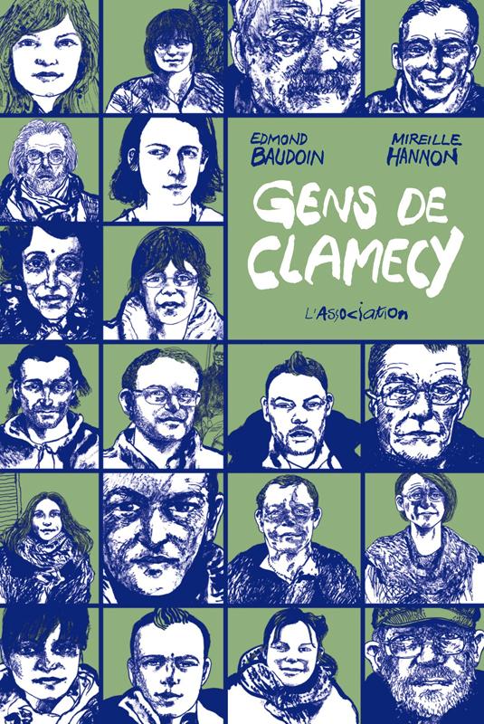Les Gens de Clamecy, bd chez L'Association de Baudoin