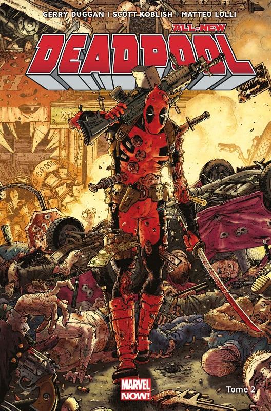 All-New Deadpool T2 : Deadpool contre Dents de Sabre (0), comics chez Panini Comics de Posehn, Duggan, Coello, Lolli, Koblish, Filardi, Redmond, Moore