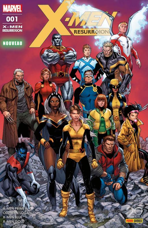 X-Men Resurrxion T1 : Pour que vive le rêve (0), comics chez Panini Comics de Bunn, Lemire, Guggenheim, Pak, Ortego, Buffagni, Lashley, Syaf, Molina, Kirk, Roberson, Andrade, Martin jr, d' Armata, Garland, Hollowell, Boyd, Milla