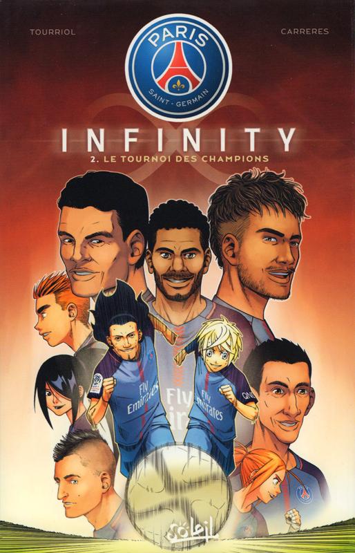 Paris Saint-Germain Infinity T2 : Le tournoi des champions (0), manga chez Soleil de Tourriol, Cg, Vigneau