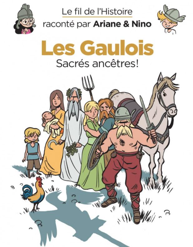 Le Fil de l'Histoire T3 : Les Gaulois (0), bd chez Dupuis de Erre, Savoia