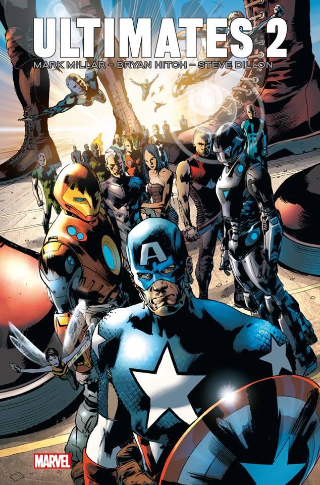 Ultimates T2, comics chez Panini Comics de Millar, Dillon, Hitch, Martin, Mounts