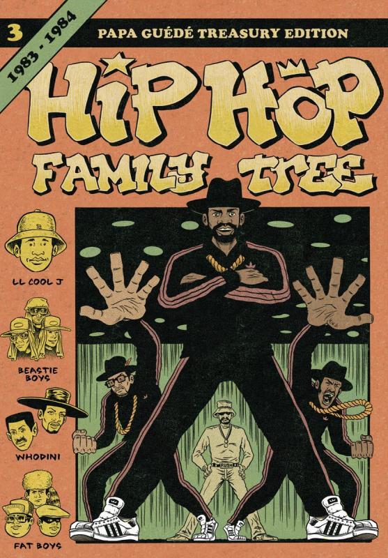 Hip Hop Family Tree T3 : 1983-1984 (0), comics chez Papa Guédé de Piskor