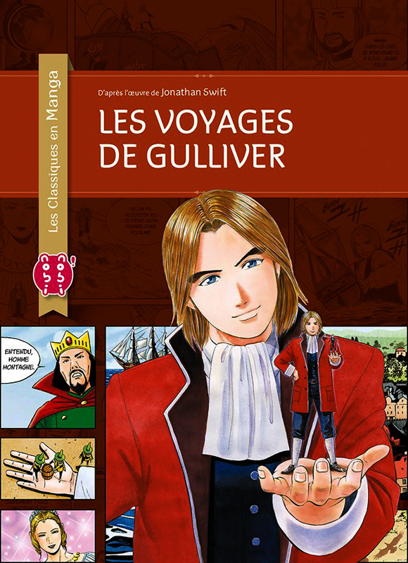 Les voyages de Gulliver, manga chez Nobi Nobi! de Chiba, Swift