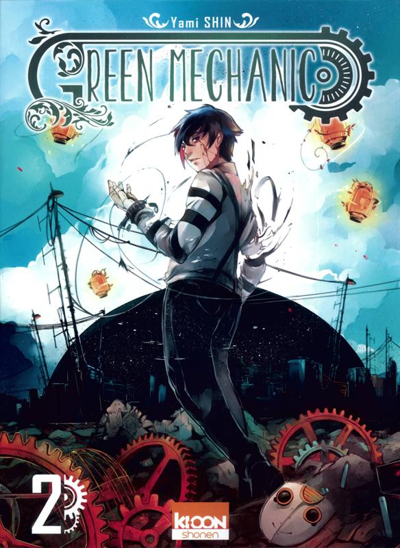 Green mechanic T2, manga chez Ki-oon de Shin