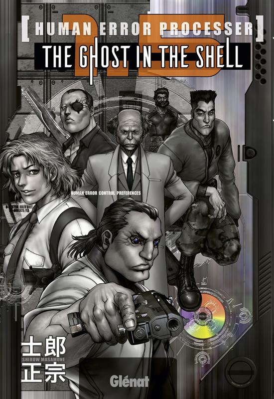 The ghost in the shell : 1.5 (0), manga chez Glénat de Shirow