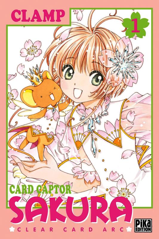 Card Captor Sakura – Clear card arc T1, manga chez Pika de Clamp