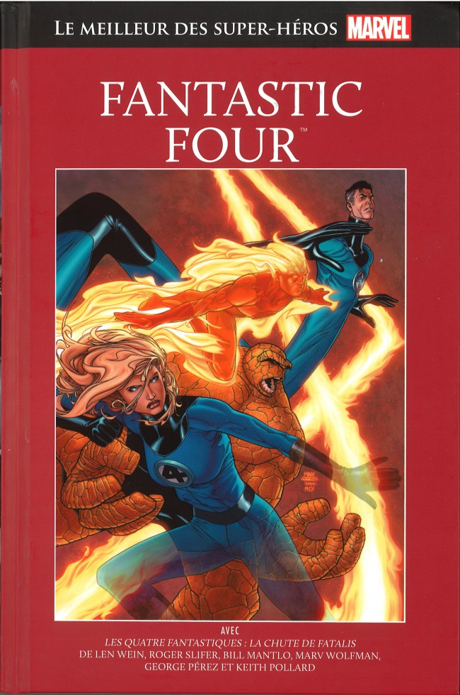 Marvel Comics : le meilleur des super-héros T12 : Fantastic Four (0), comics chez Hachette de Wein, Keith, Slifer, Mantlo, Wolfman, Hunt, Sinnott, Perez, Marcos, Cohen, Roussos, Oliver, Rachelson, Grossman, Mouly
