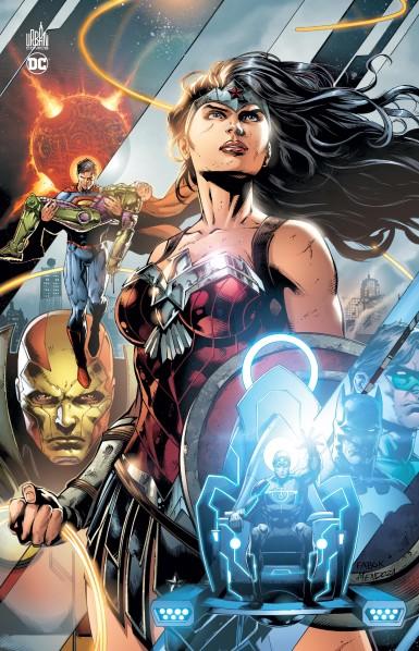 Justice League - La guerre de Darkseid, comics chez Urban Comics de Johns, Kolins, Maguire, Jurgens, Jimenez, Fabok, Lee, Anderson, Leigh, Sinclair