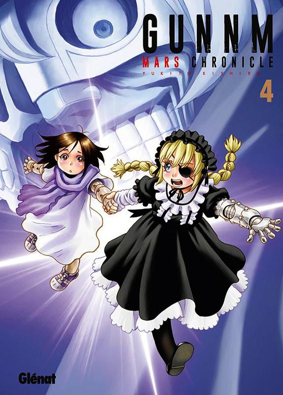 Gunnm Mars chronicle T4, manga chez Glénat de Kishiro