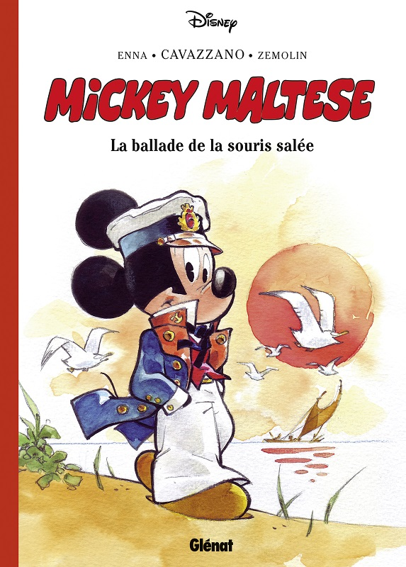 Mickey Maltese, bd chez Glénat de Enna, Cavazzano, Zemolin