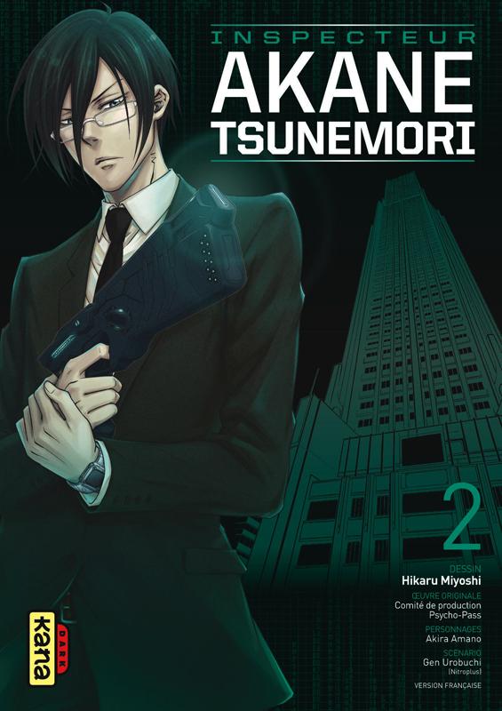 Psycho-pass Inspecteur Akane Tsunemori T2, manga chez Kana de Urobochi, Miyoshi