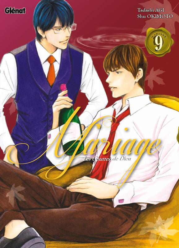 Les Gouttes de dieu - Mariage T9, manga chez Glénat de Agi, Okimoto