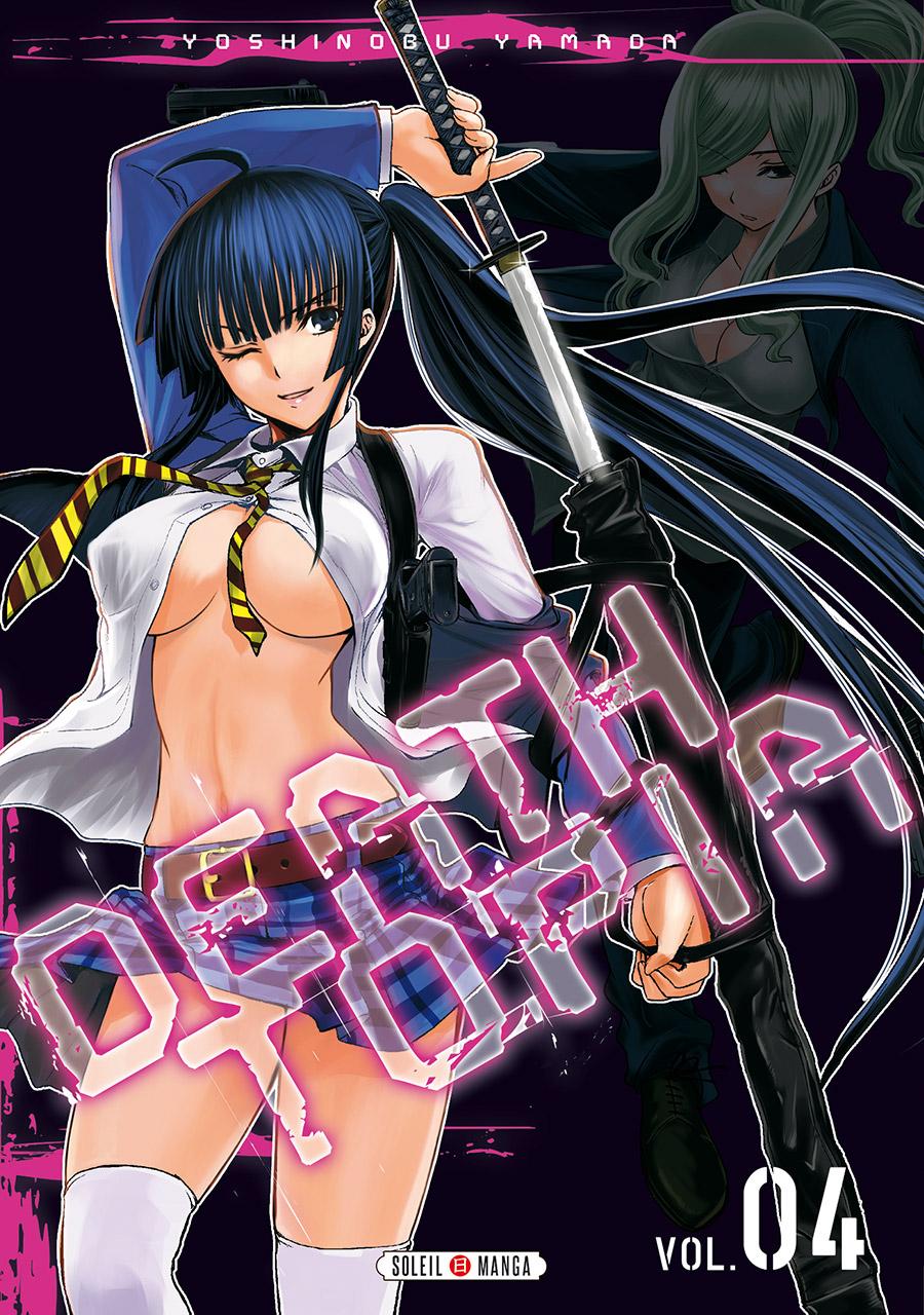 Deathtopia T4, manga chez Soleil de Yamada
