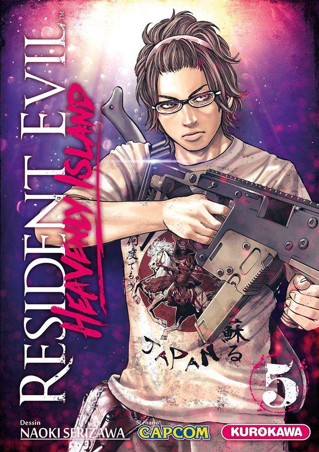 Resident evil - heavenly island T5, manga chez Kurokawa de Capcom , Serizawa