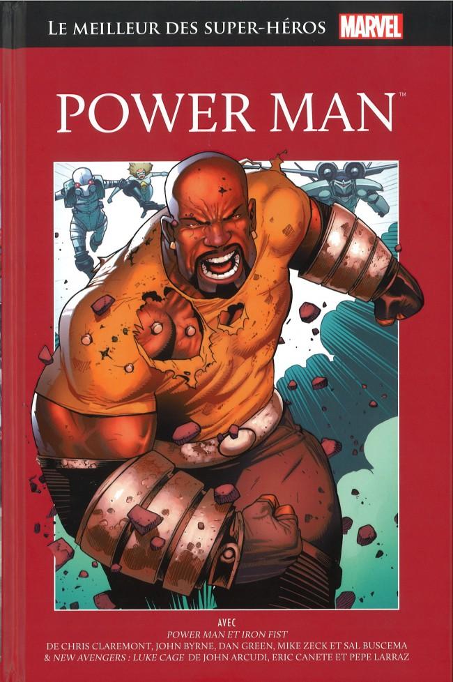 Marvel Comics : le meilleur des super-héros T14 : Power Man (0), comics chez Hachette de Arcudi, Claremont, Villamonte, Byrne, Larraz, Canete, Zeck, Chan, Mooney, Green, Buscema, Chuckry, Mossa