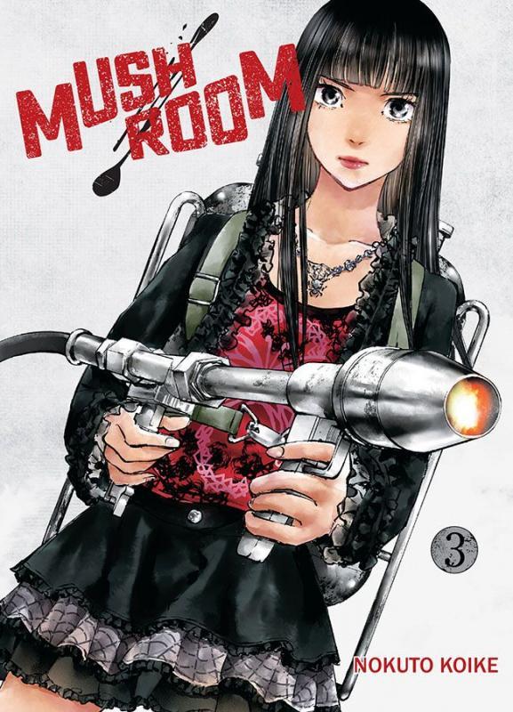 Mushroom T3, manga chez Komikku éditions de Koike