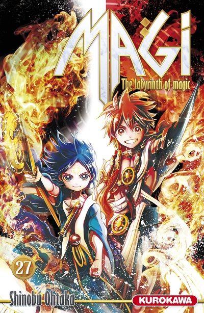 Magi, the labyrinth of magic  T27, manga chez Kurokawa de Ohtaka
