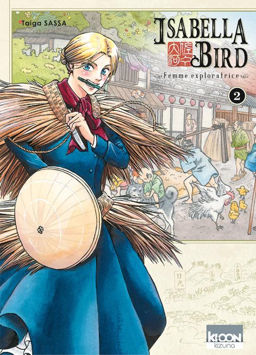 Isabella Bird, femme exploratrice T2, manga chez Ki-oon de Sassa