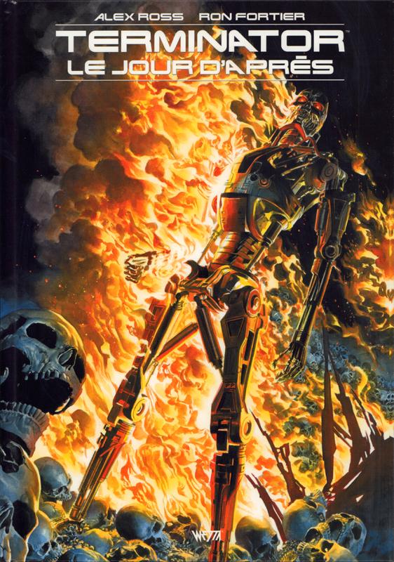 Terminator - Le jour d'après, comics chez Wetta de Fortier, Ross