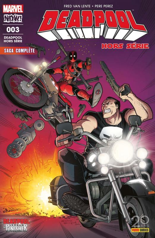 Deadpool Hors Série T3 : Deadpool contre le Punisher (0), comics chez Panini Comics de Van Lente, Pérez, Redmond, Espin
