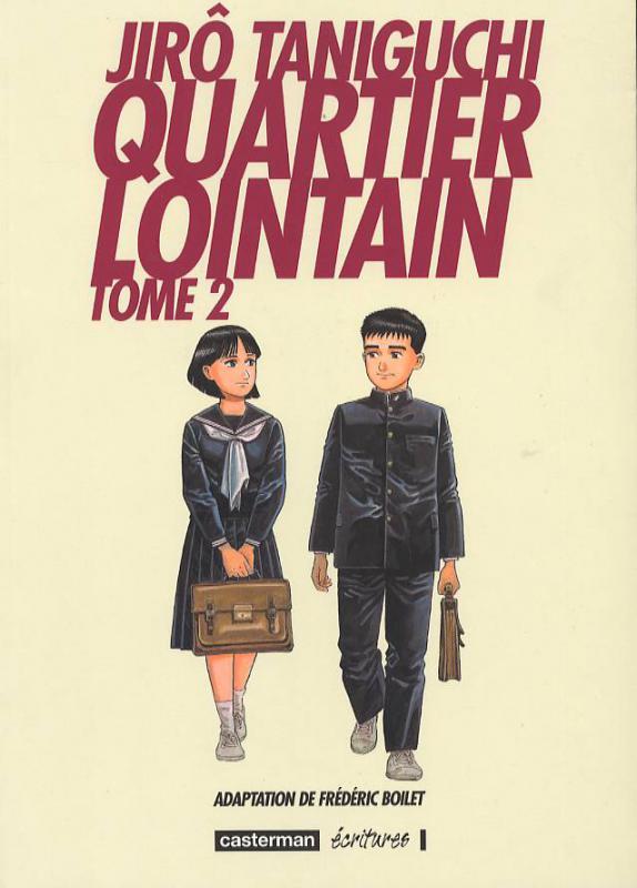 Quartier lointain T2, manga chez Casterman de Taniguchi