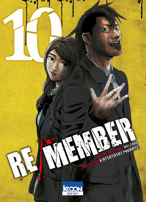 Re/member T10, manga chez Ki-oon de Welzard, Murase