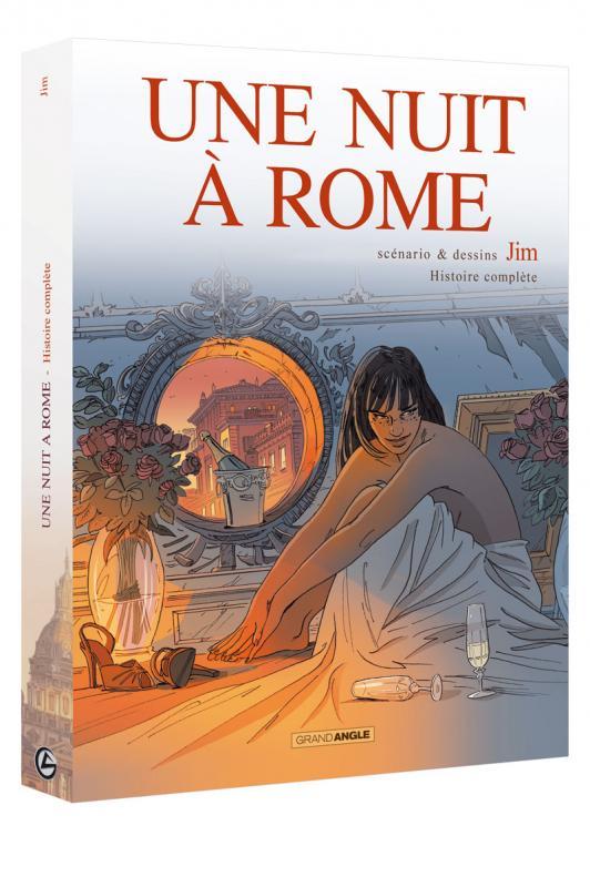 Une Nuit à Rome, bd chez Bamboo de Jim, Delphine