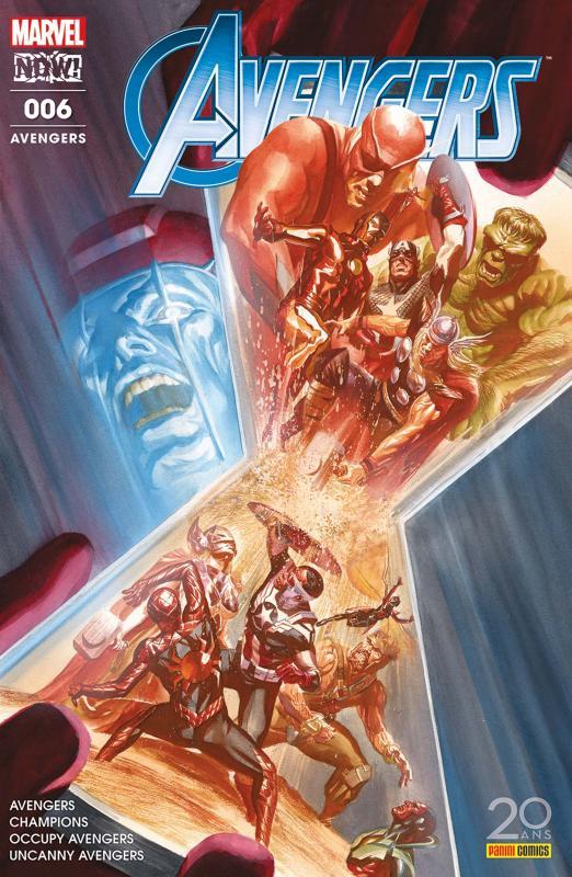 The Avengers (revue) T6 : Effort maximal (0), comics chez Panini Comics de Walker, Waid, Duggan, Pacheco, Larraz, Ramos, Del Mundo, Libranda, Curiel, Delgado, Almara, Oback, D'Alfonso, Protobunker, Woodard, Quintana, Ross
