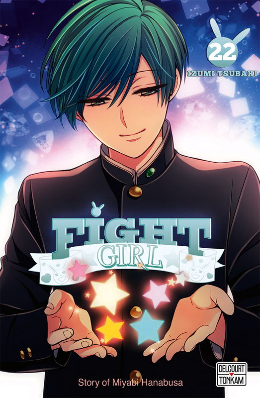 Fight girl T22, manga chez Delcourt Tonkam de Tsubaki