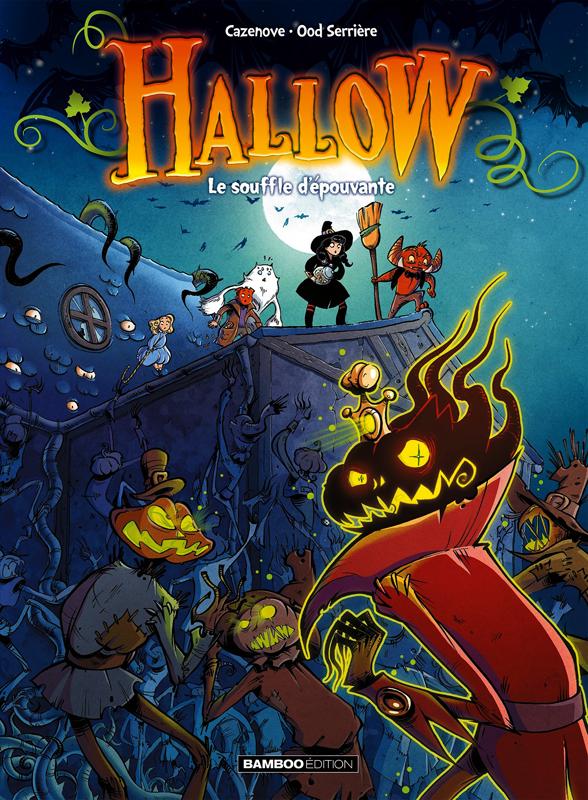Hallow T2 : Le souffle d'épouvante (0), bd chez Bamboo de Cazenove, Serrière, Nino